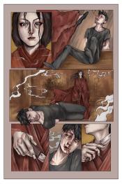 "PA Page Two Colour. Graphite, 8 x 11"", 2014."