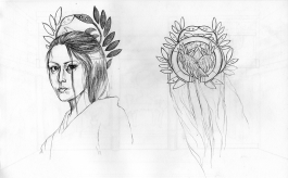 PA - Character Design Ei Headpiece