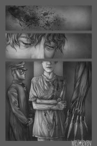 West Seven, Chapter Three, Page Thirteen.